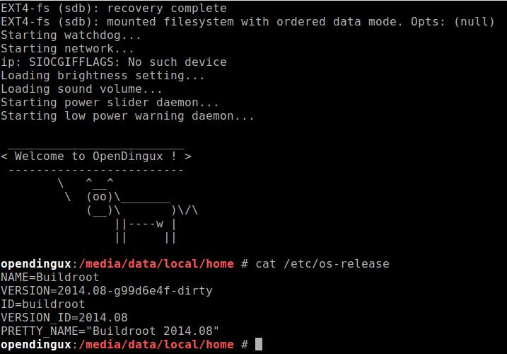 GCW Zero OpenDingux emulation in Qemu - OpenDingux development for
